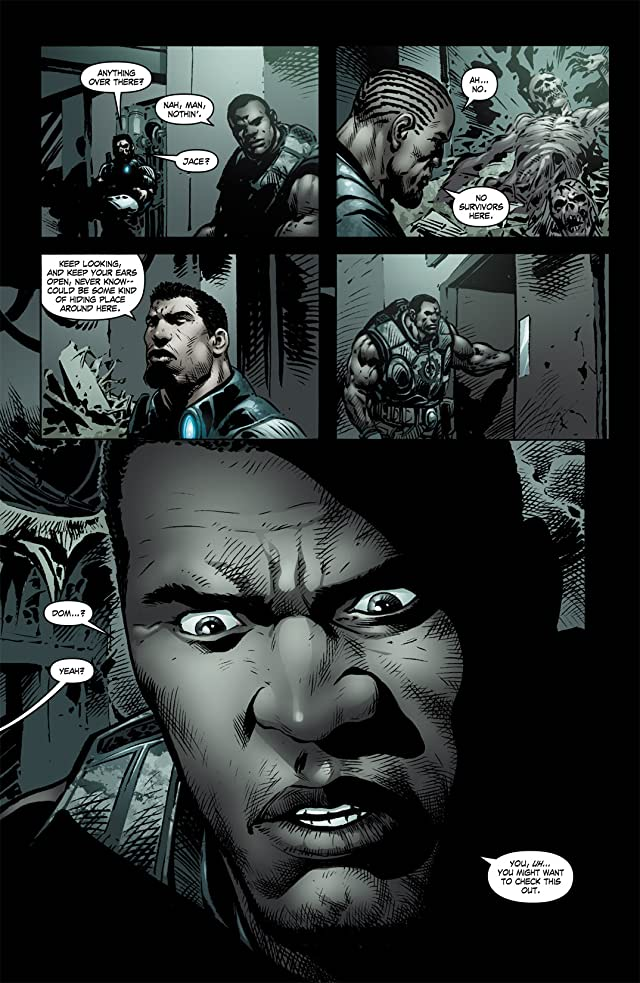 click for super-sized previews of Gears of War #10
