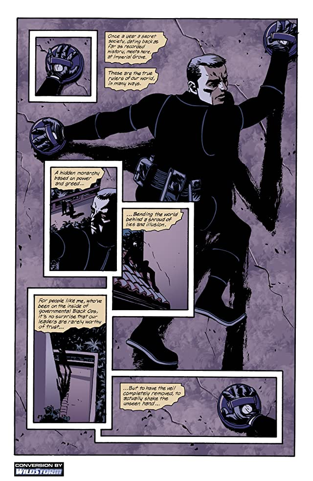 click for super-sized previews of Sleeper: Season One #4