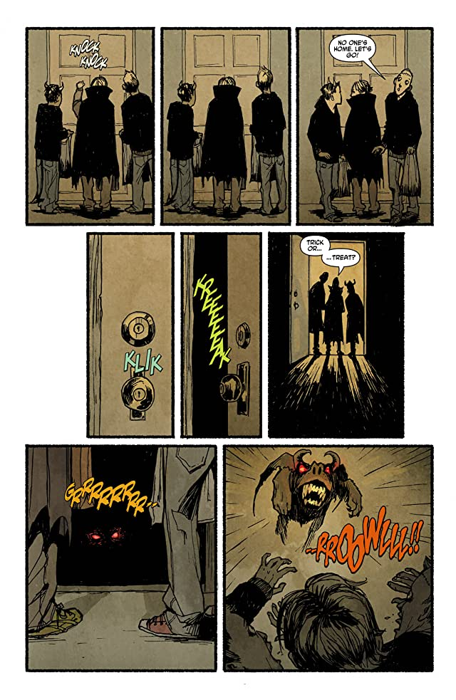 click for super-sized previews of Trick 'R Treat #4