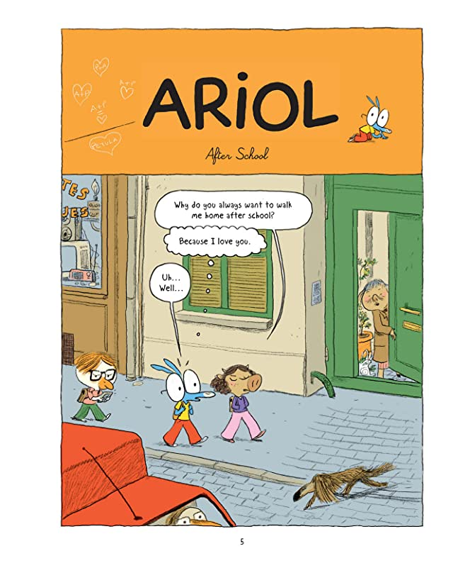 click for super-sized previews of Ariol Vol. 3: Happy as a Pig...