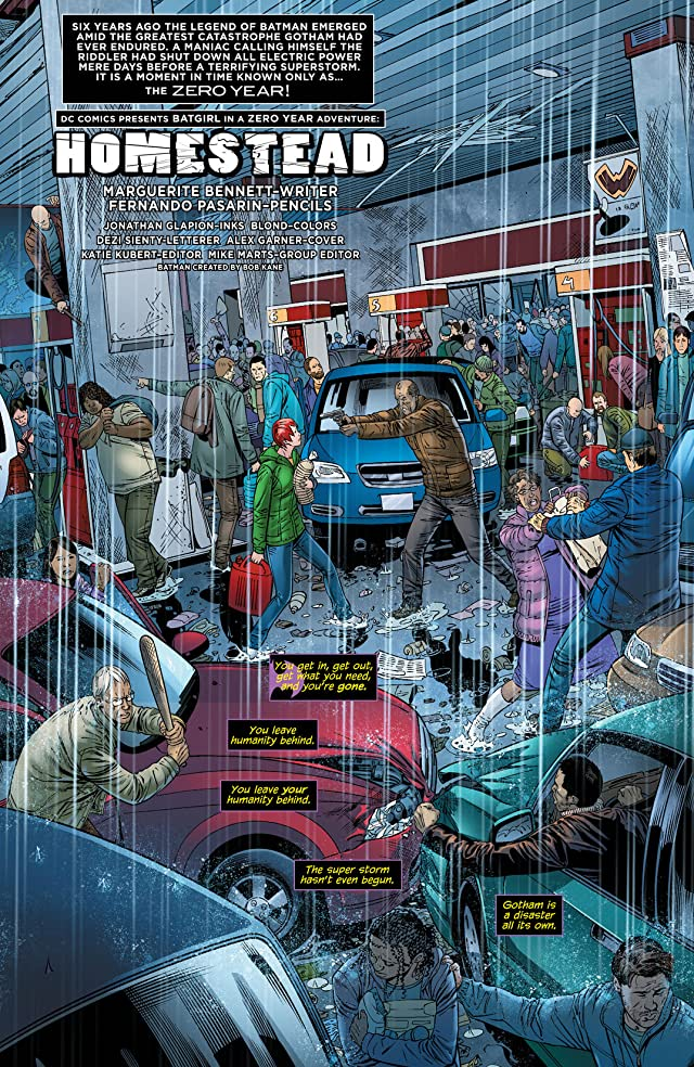 click for super-sized previews of Batgirl (2011-) #25