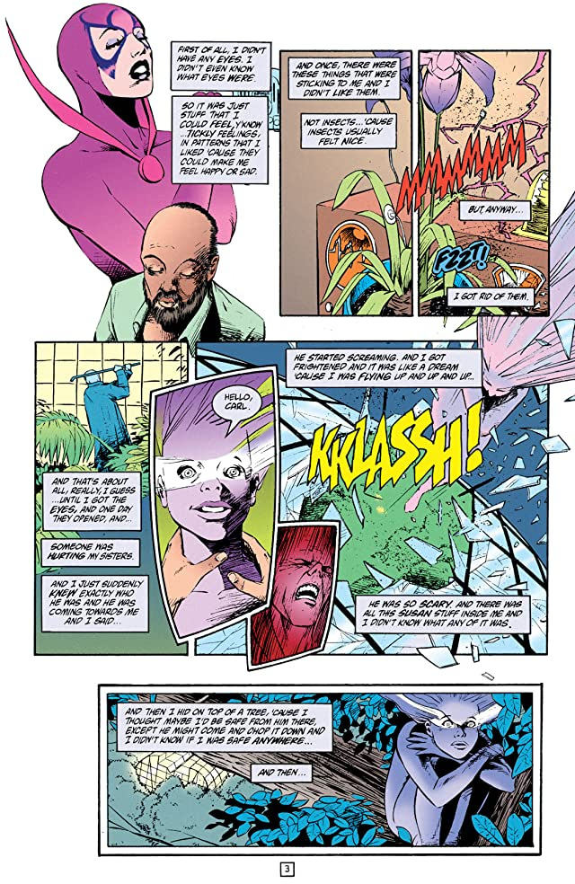 click for super-sized previews of Black Orchid (1993-1995) #1: Annual