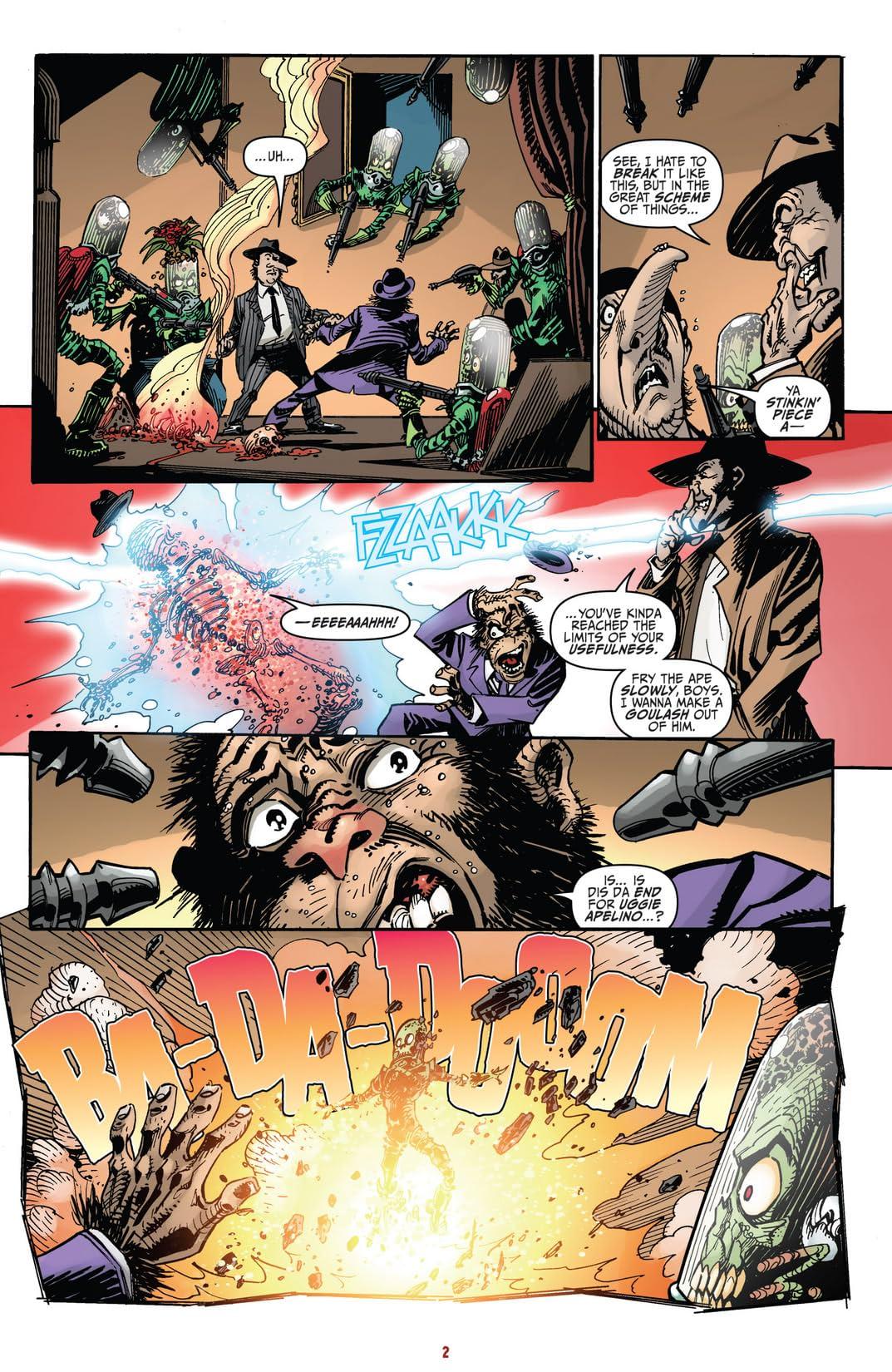 Mars Attacks Judge Dredd #3 (of 4)