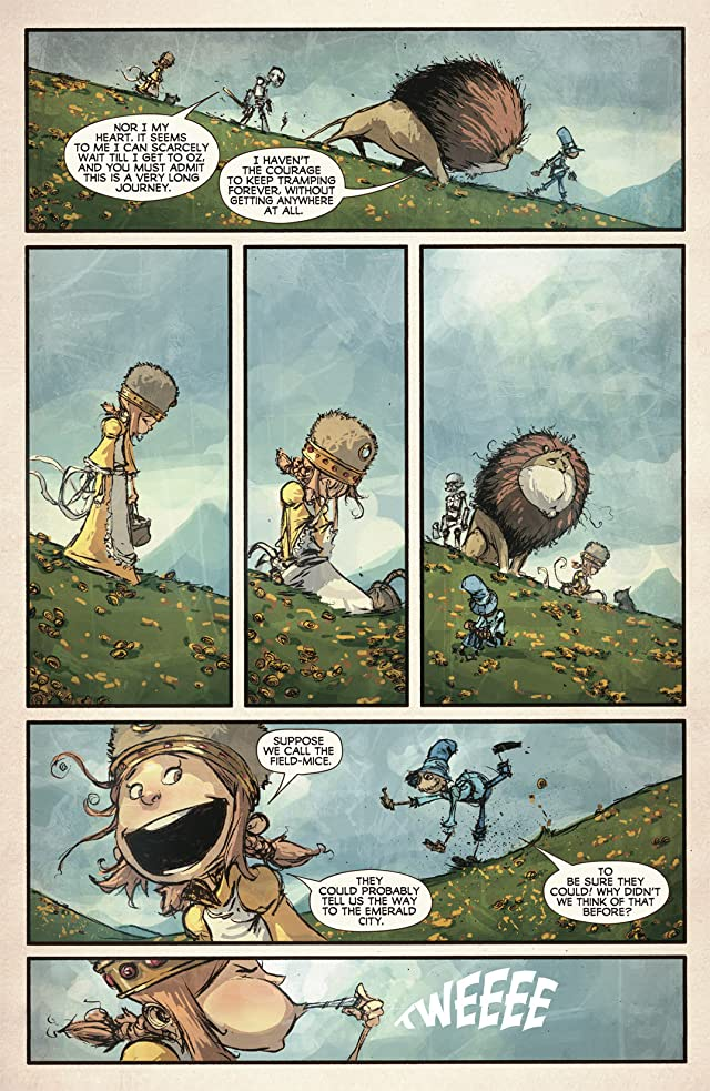 click for super-sized previews of The Wonderful Wizard of Oz #6