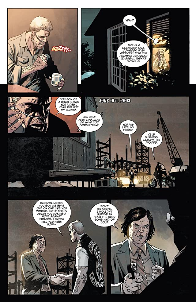 click for super-sized previews of Sons of Anarchy #3