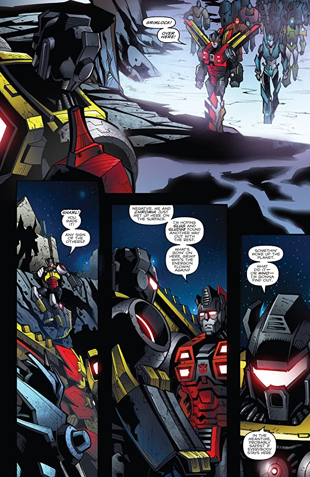click for super-sized previews of Transformers: Prime - Beast Hunters #7