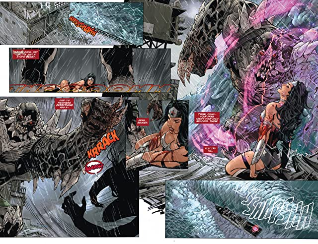 click for super-sized previews of Superman/Wonder Woman (2013-) #2