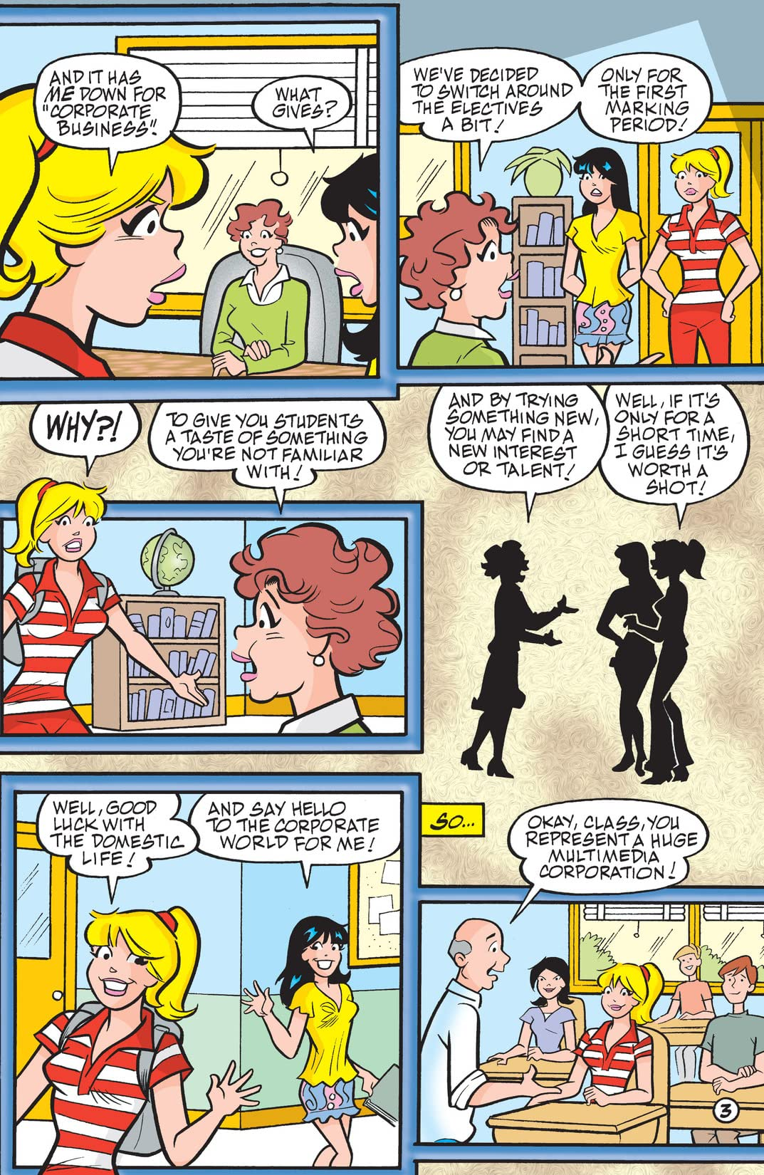 PEP Digital #19: Archie & Friends Back 2 School Special