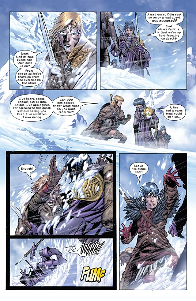 click for super-sized previews of Thor: Son of Asgard #3