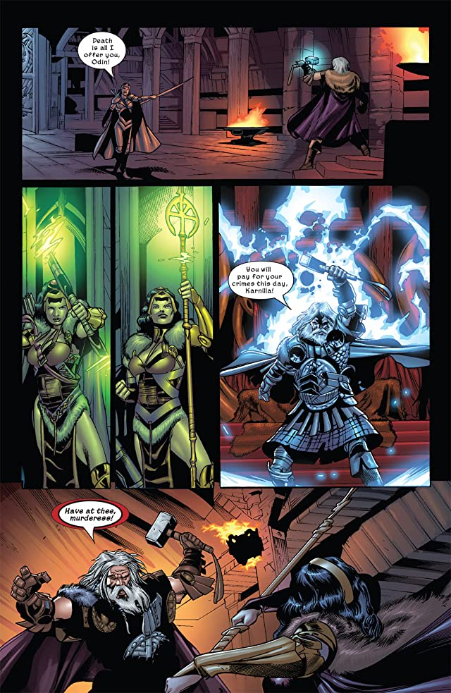 click for super-sized previews of Thor: Son of Asgard #6