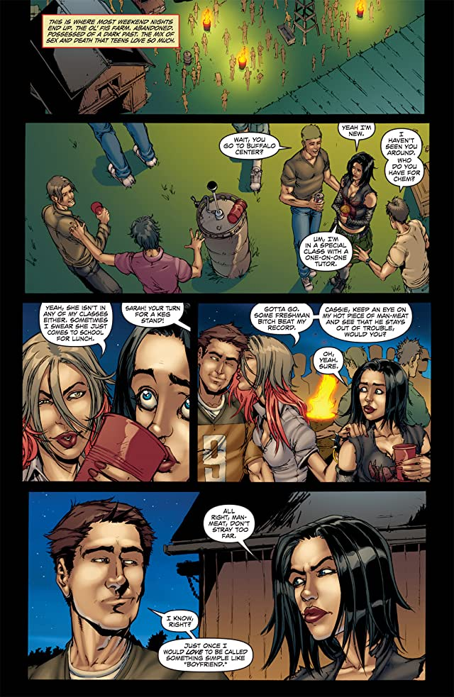 click for super-sized previews of Hack/Slash: My First Maniac #3