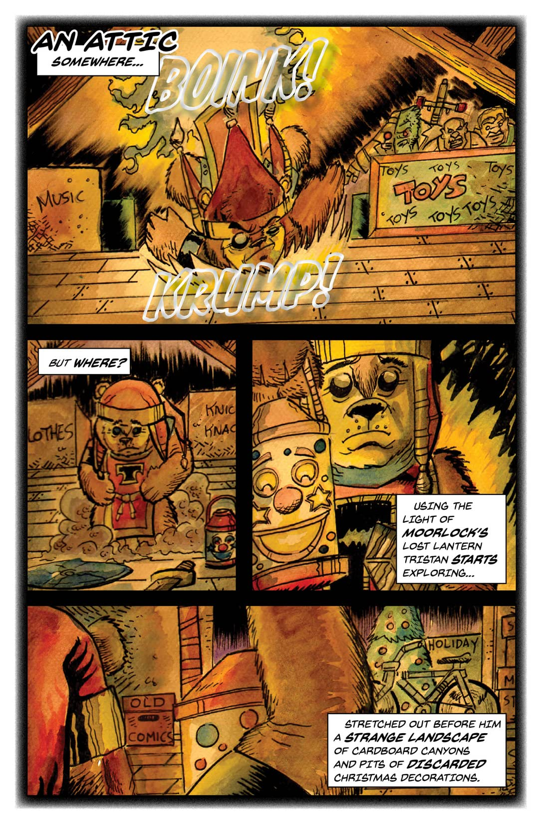 Tristan and the Cuddly Defenders #2