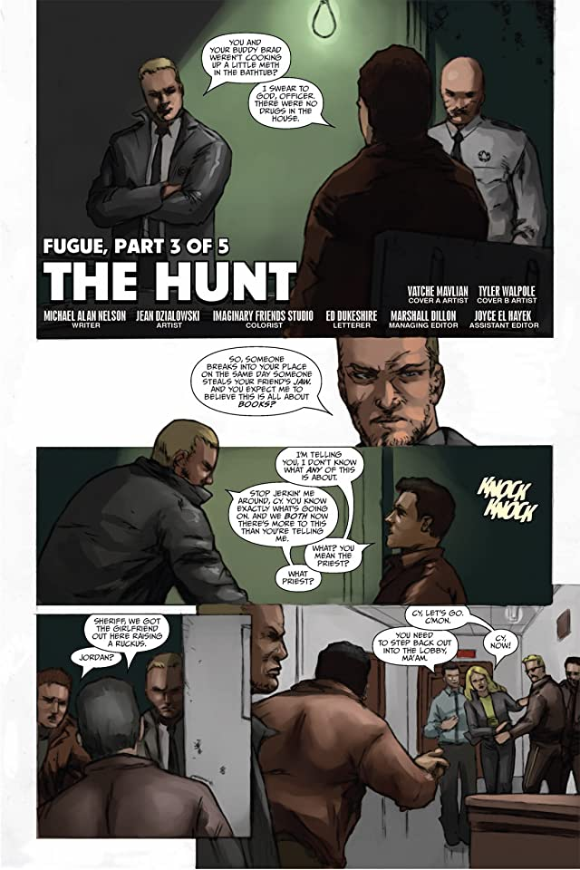 click for super-sized previews of Fall of Cthulhu Vol. 1: The Fugue #3