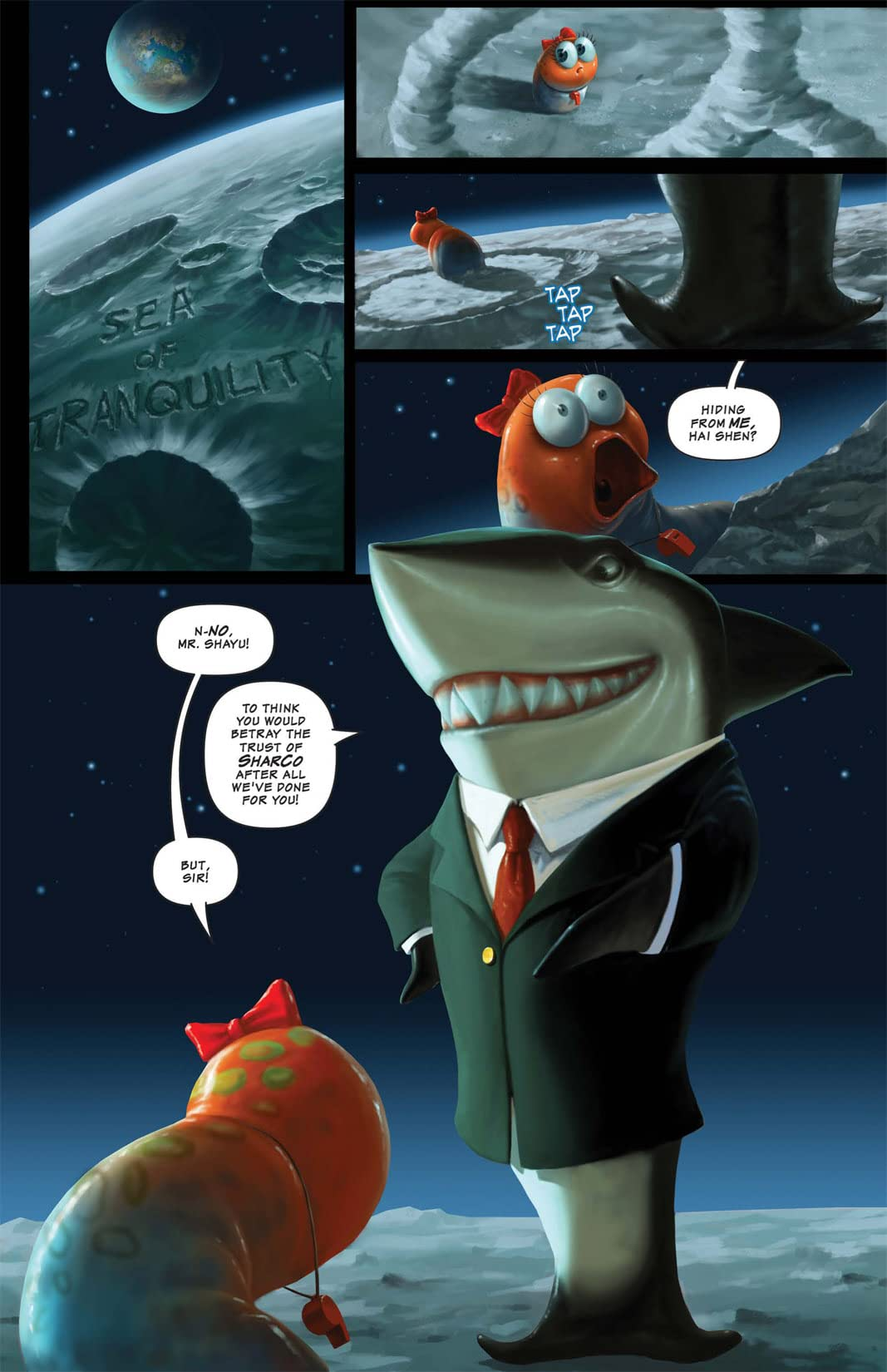 Shrapnel: Hubris #2 (of 3)