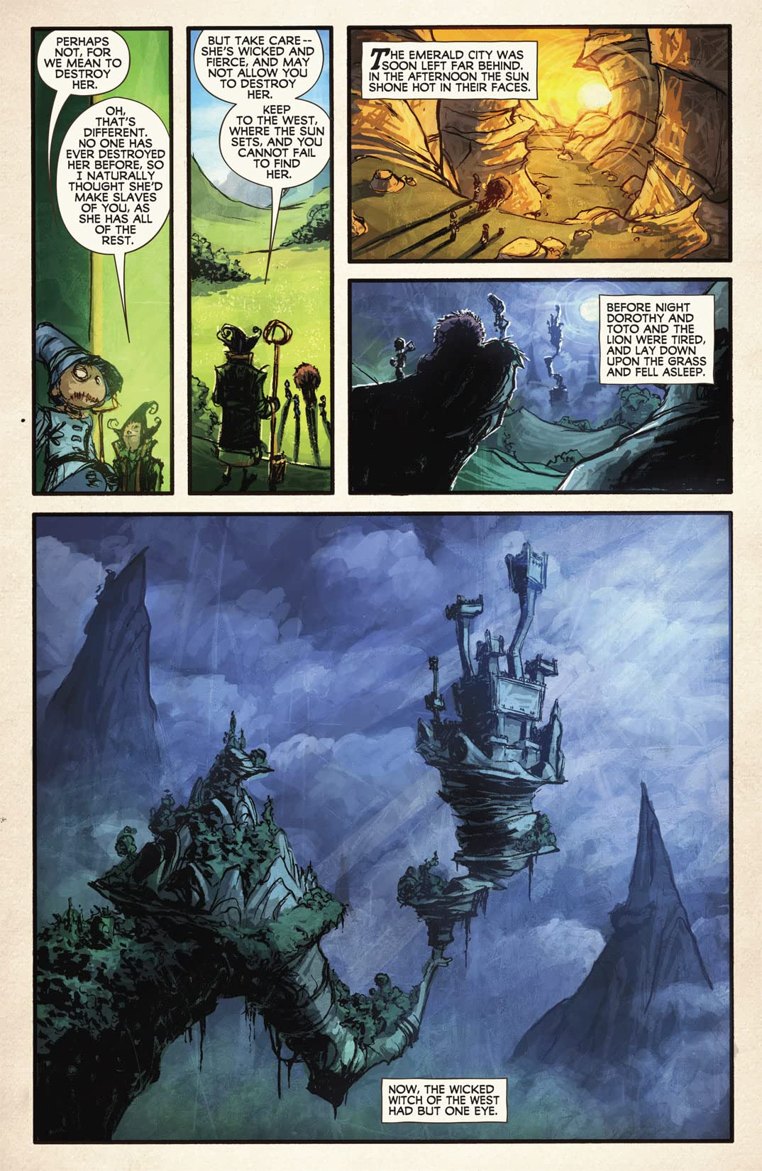 The Wonderful Wizard of Oz #5 (of 8)