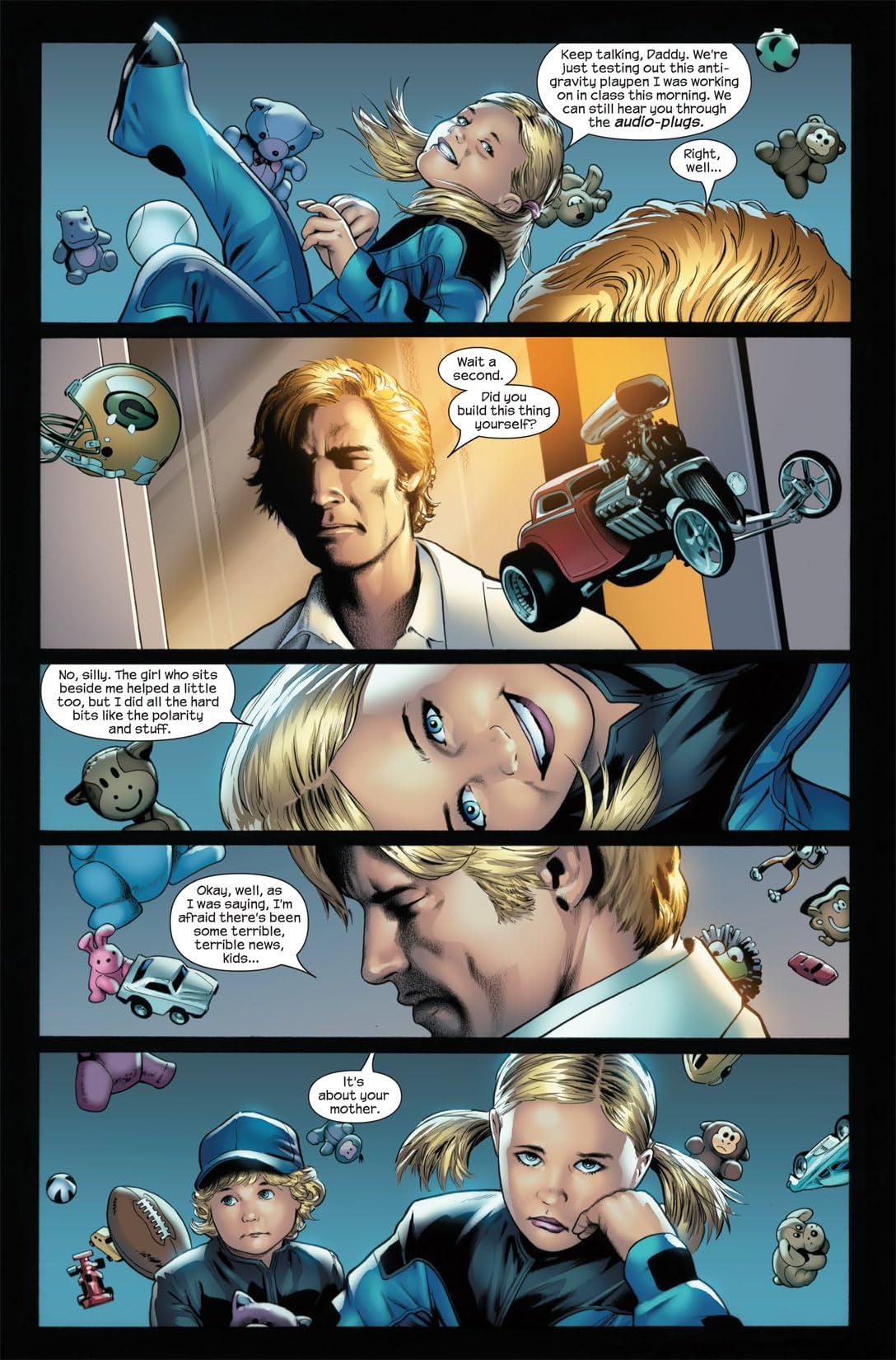 Ultimate Fantastic Four #24