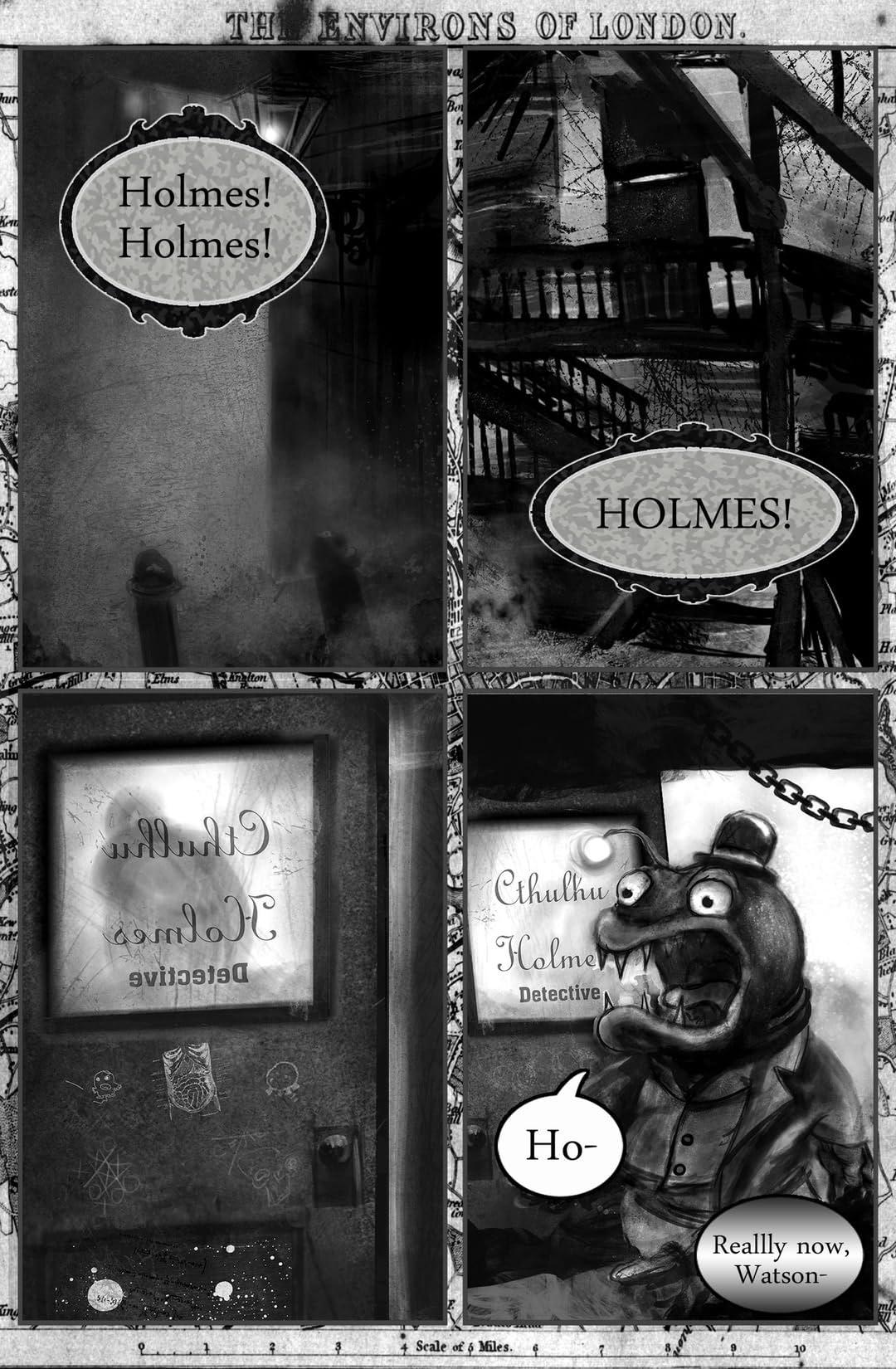 The Canny Cthulhu Holmes #1