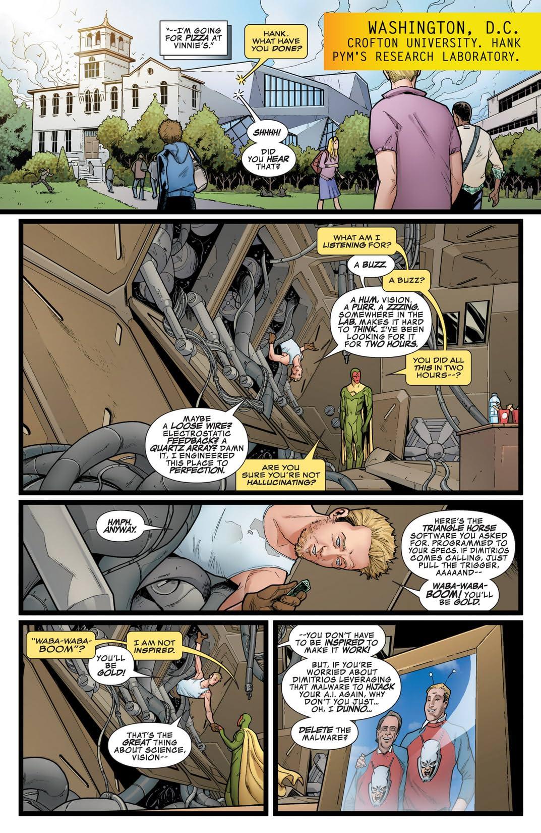 Avengers A.I. (2013-) #6