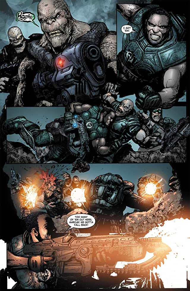 click for super-sized previews of Gears of War #11