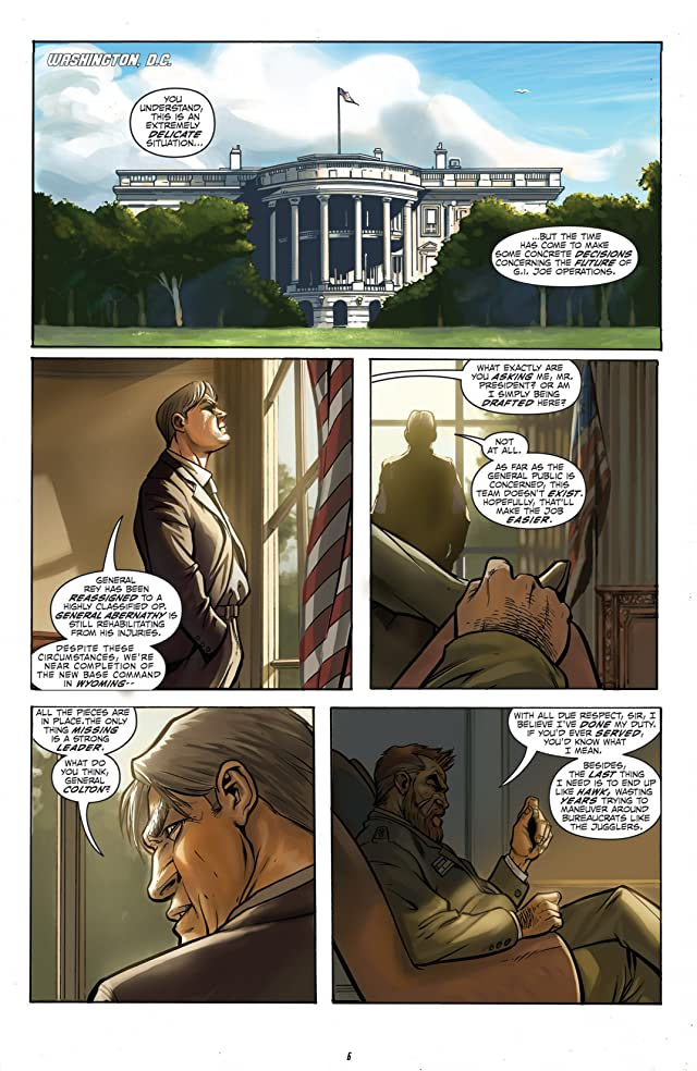 click for super-sized previews of G.I. Joe: America's Elite - Disavowed Vol. 1