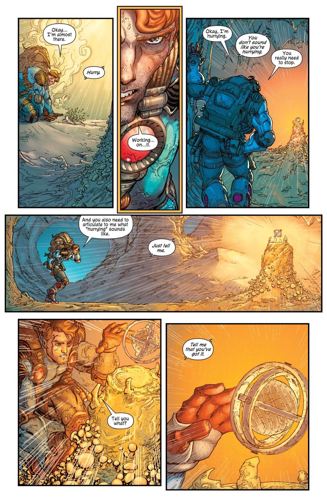 The Infinite Adventures of Jonas Quantum #5