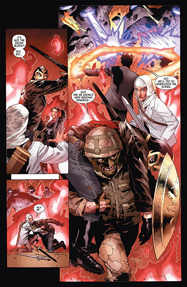 click for super-sized previews of Captain Britain and MI: 13 #8