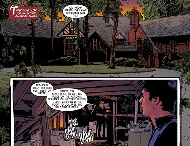 click for super-sized previews of The Vampire Diaries #2