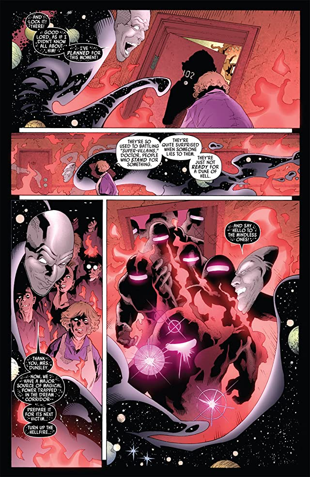 click for super-sized previews of Captain Britain and MI: 13 #7