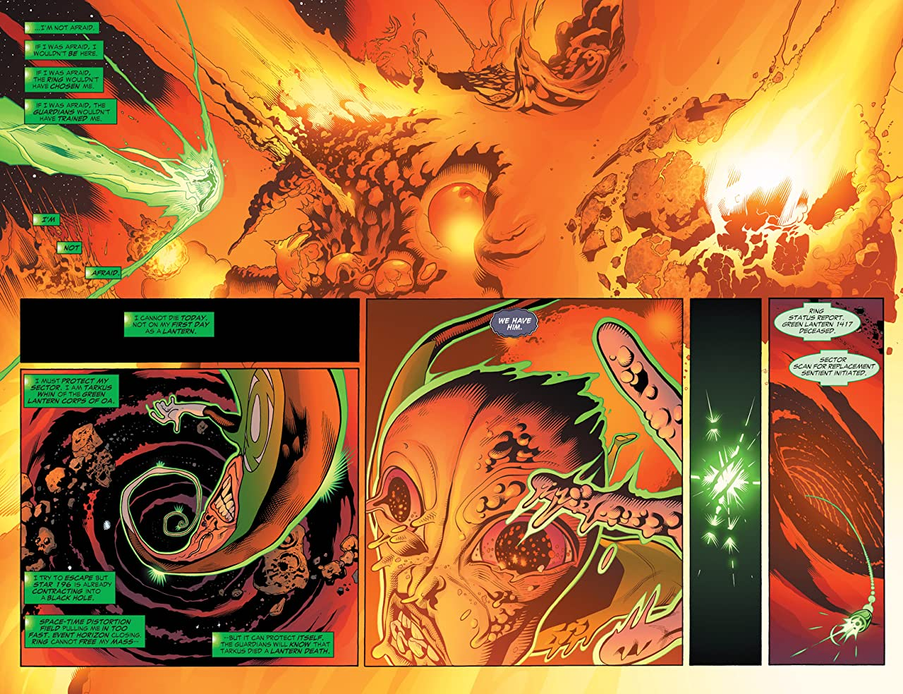 Green Lantern Corps: Recharge #1 (of 5)