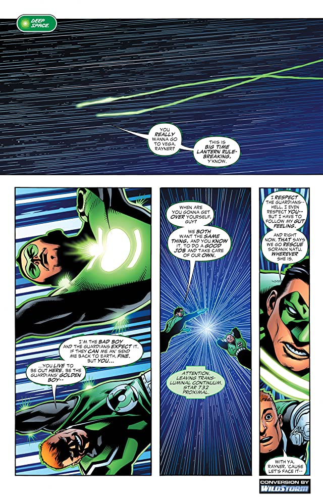 Green Lantern Corps: Recharge #3 (of 5)