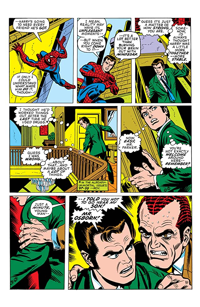 click for super-sized previews of Amazing Spider-Man (1963-1998) #121