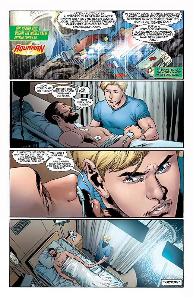 click for super-sized previews of Aquaman (2011-) Vol. 3: Throne of Atlantis