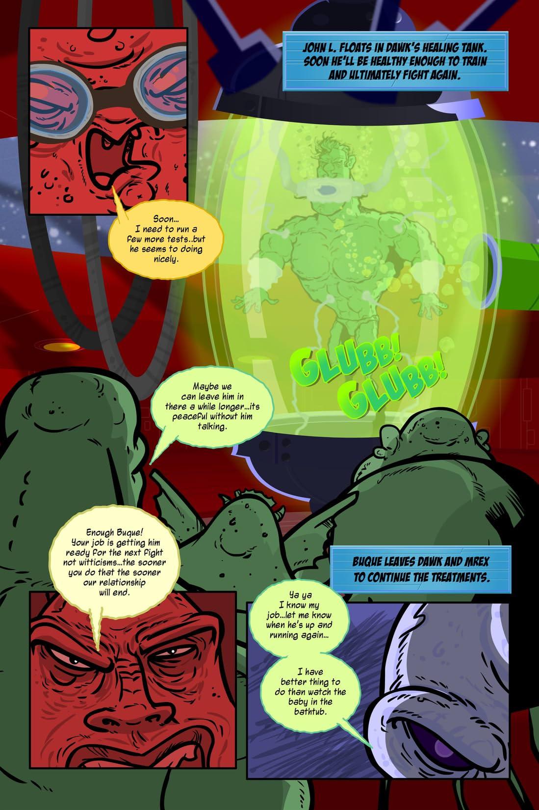 John L. Sullivan Boston Strong Boy In Space #5