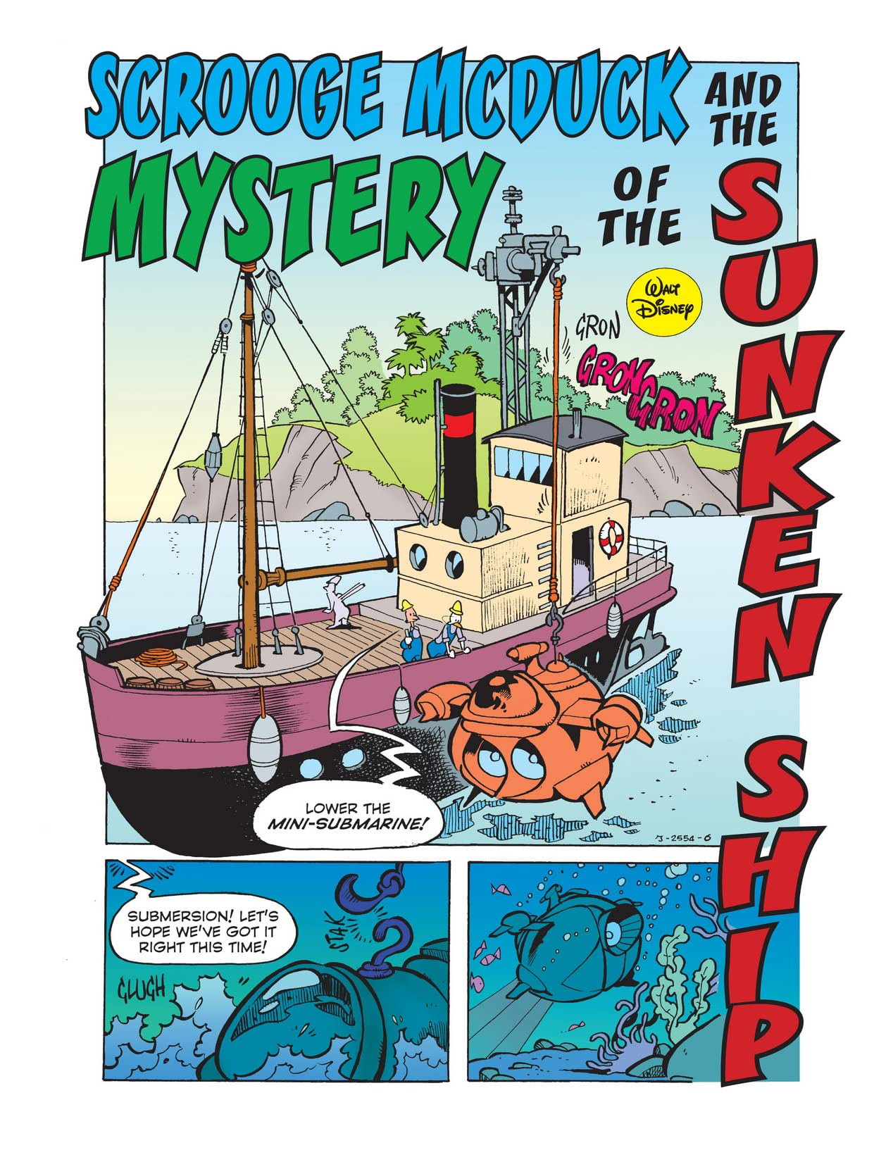 Scrooge McDuck and the Mystery of the Sunken Ship