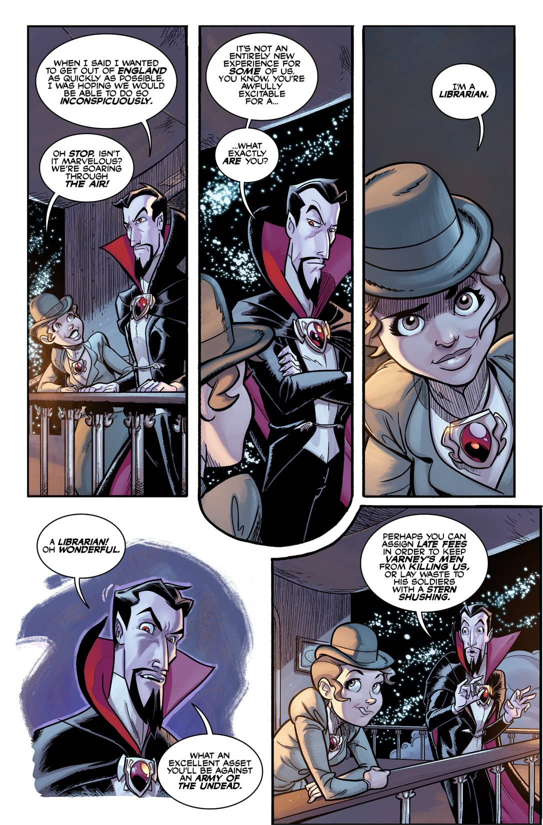 Dracula the Unconquered #3