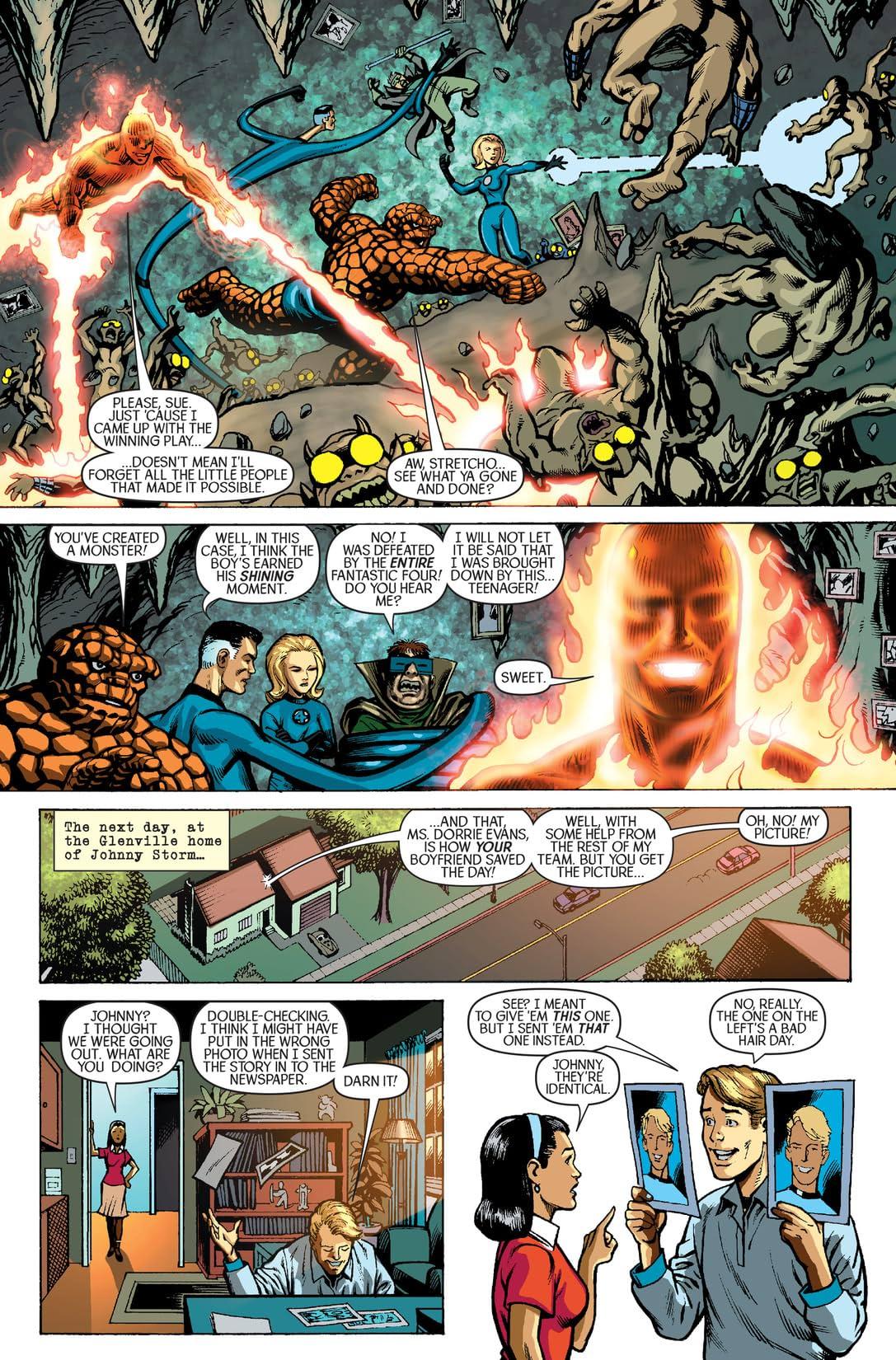 Spider-Man/Human Torch #1