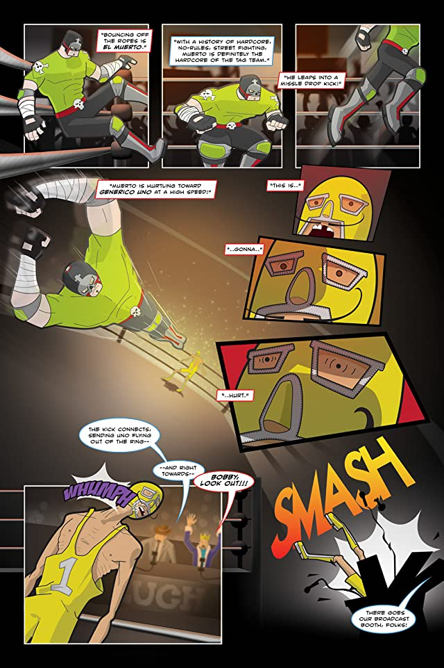click for super-sized previews of Hardcore Luchador #1