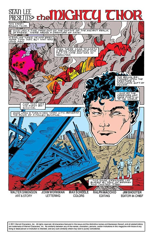 Thor (1966-1996) #363