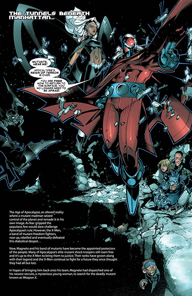 click for super-sized previews of X-Men: Age of Apocalypse #2