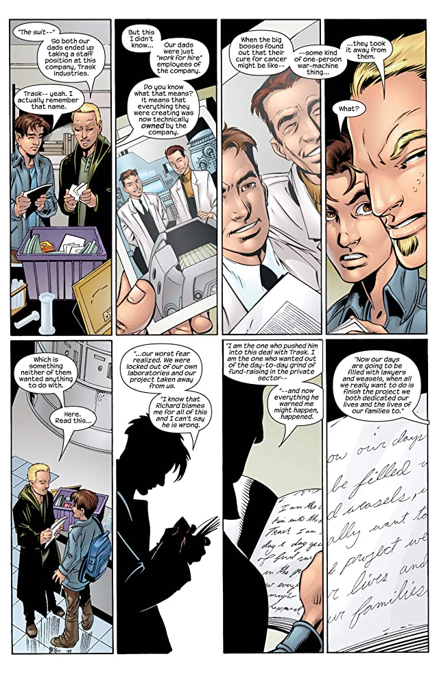 click for super-sized previews of Ultimate Spider-Man (2000-2009) #34