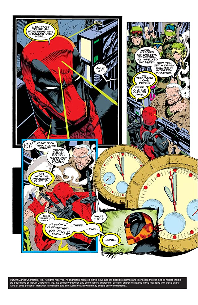click for super-sized previews of Deadpool (1994) #3