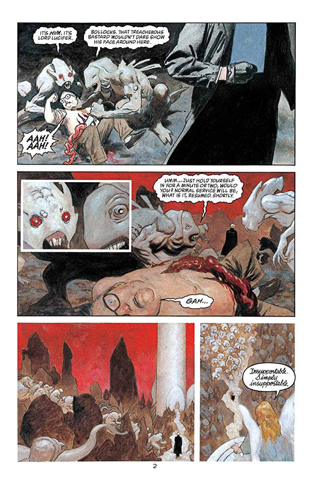 Sandman Presents Lucifer #2 (of 3)