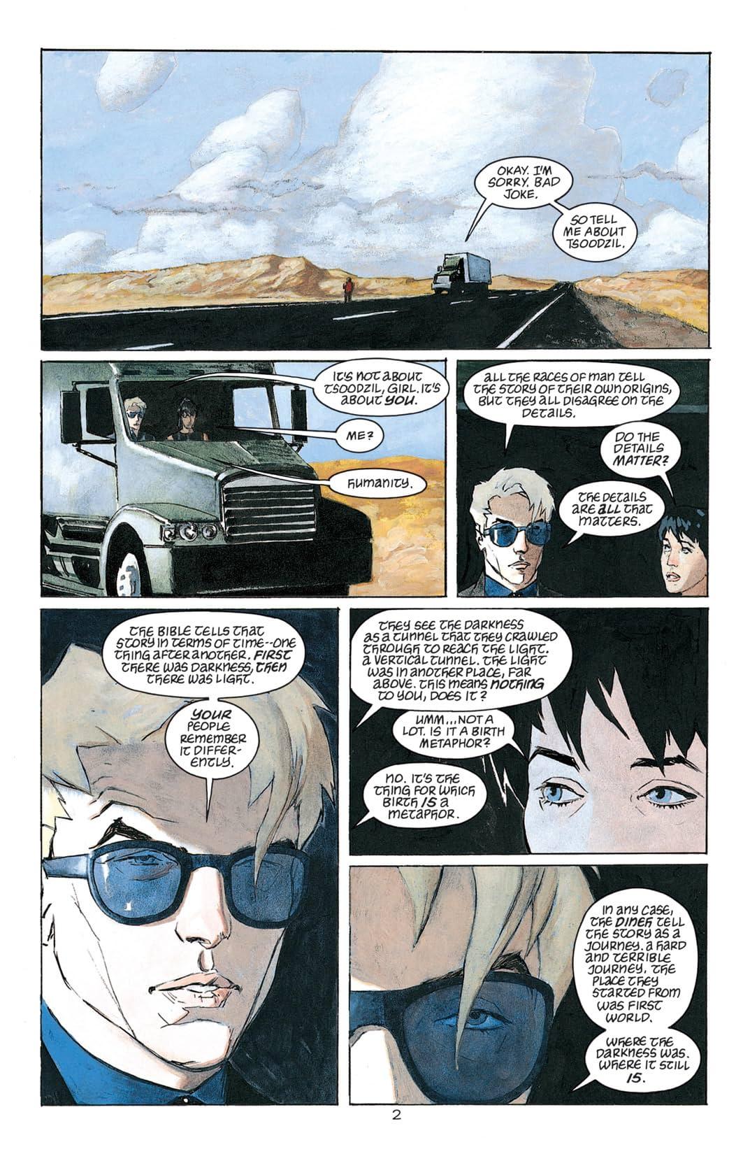 Sandman Presents Lucifer #3 (of 3)
