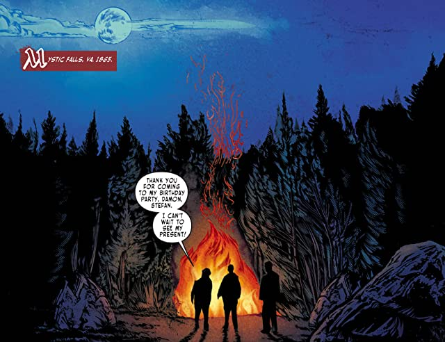 click for super-sized previews of The Vampire Diaries #1