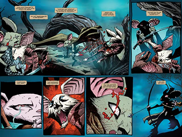 click for super-sized previews of The Mice Templar Vol. 4.1: Legend