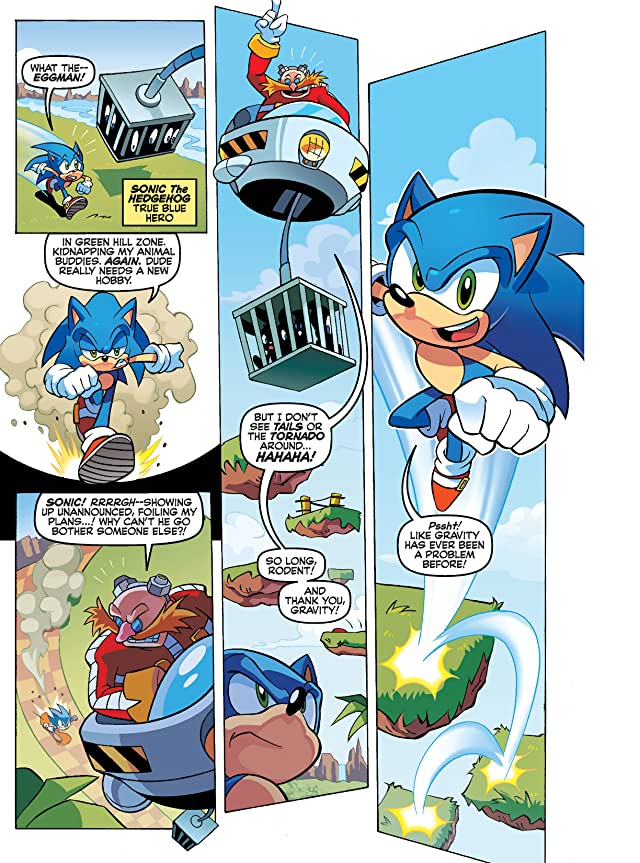 click for super-sized previews of Sonic Super Digest #5