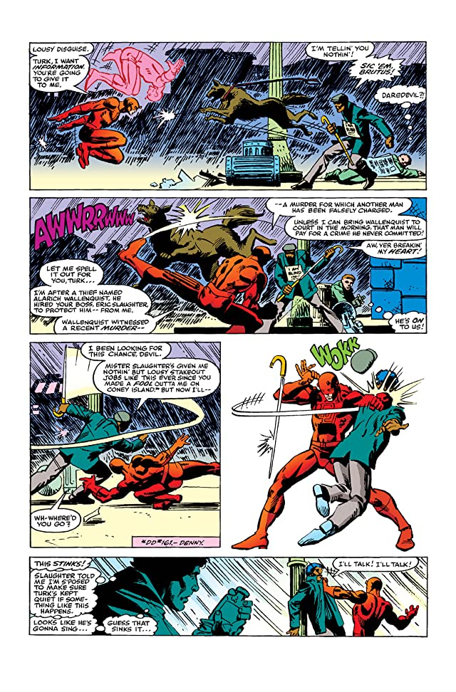 click for super-sized previews of Daredevil (1964-1998) #168