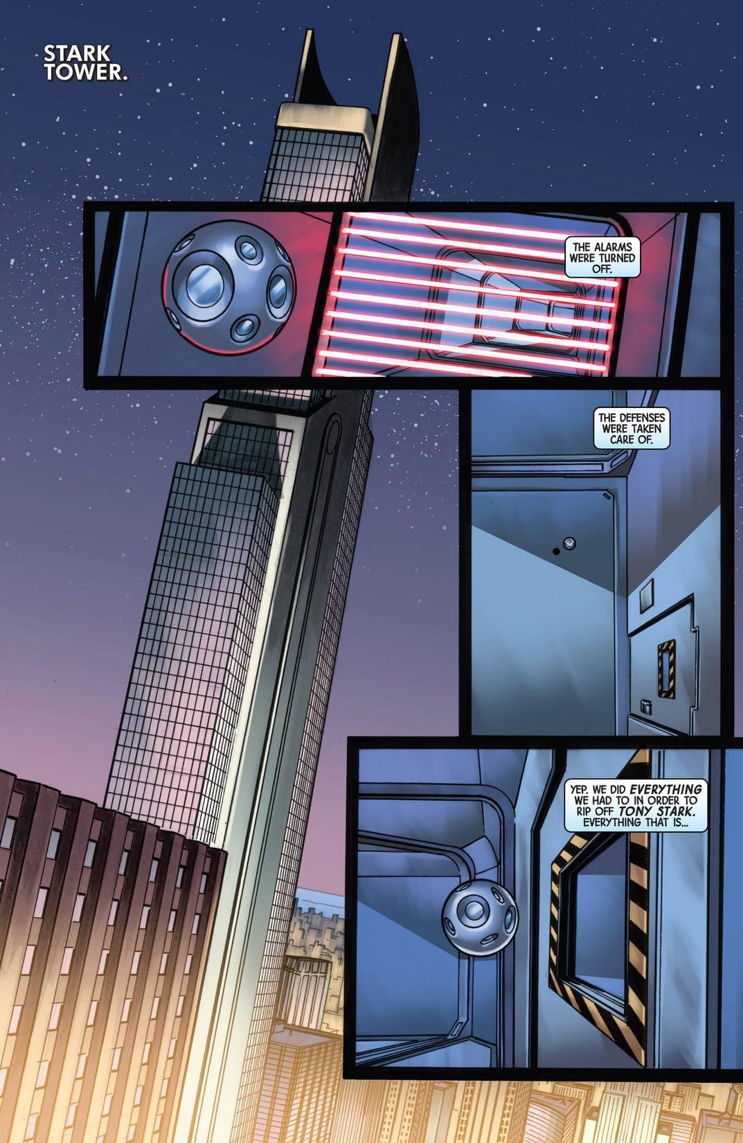 Infinity: Heist #3 (of 4)