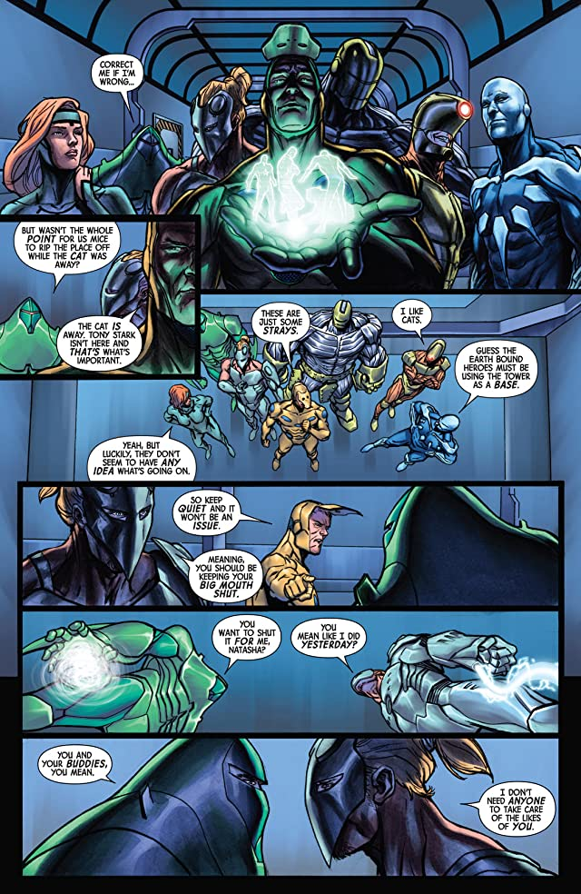 click for super-sized previews of Infinity: Heist #3 (of 4)