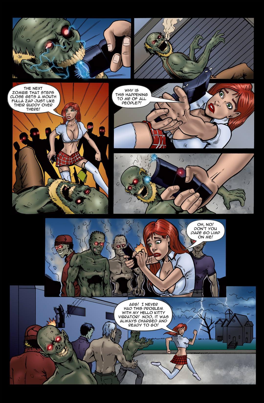 Chaos Campus: Sorority Girls vs. Zombies #7